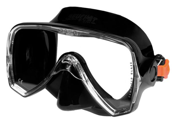 Mask Oceo Black silicone black - Beuchat Thailand