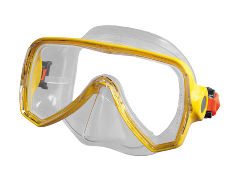 Mask Oceo Junior yellow - Beuchat Thailand
