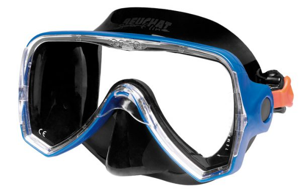 Mask Oceo blue silicone black - Beuchat Thailand