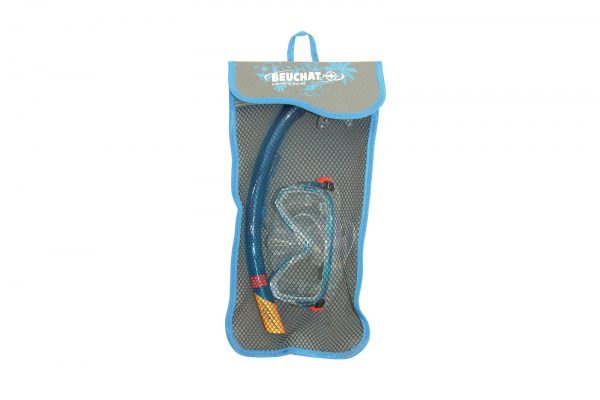 Set Mask Snorkel Oceo Senior turquoise 2