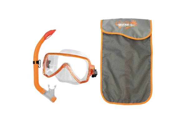 Set-Mask-Snorkel-Oceo-purge-Junior-Orange1 - Beuchat Thailand