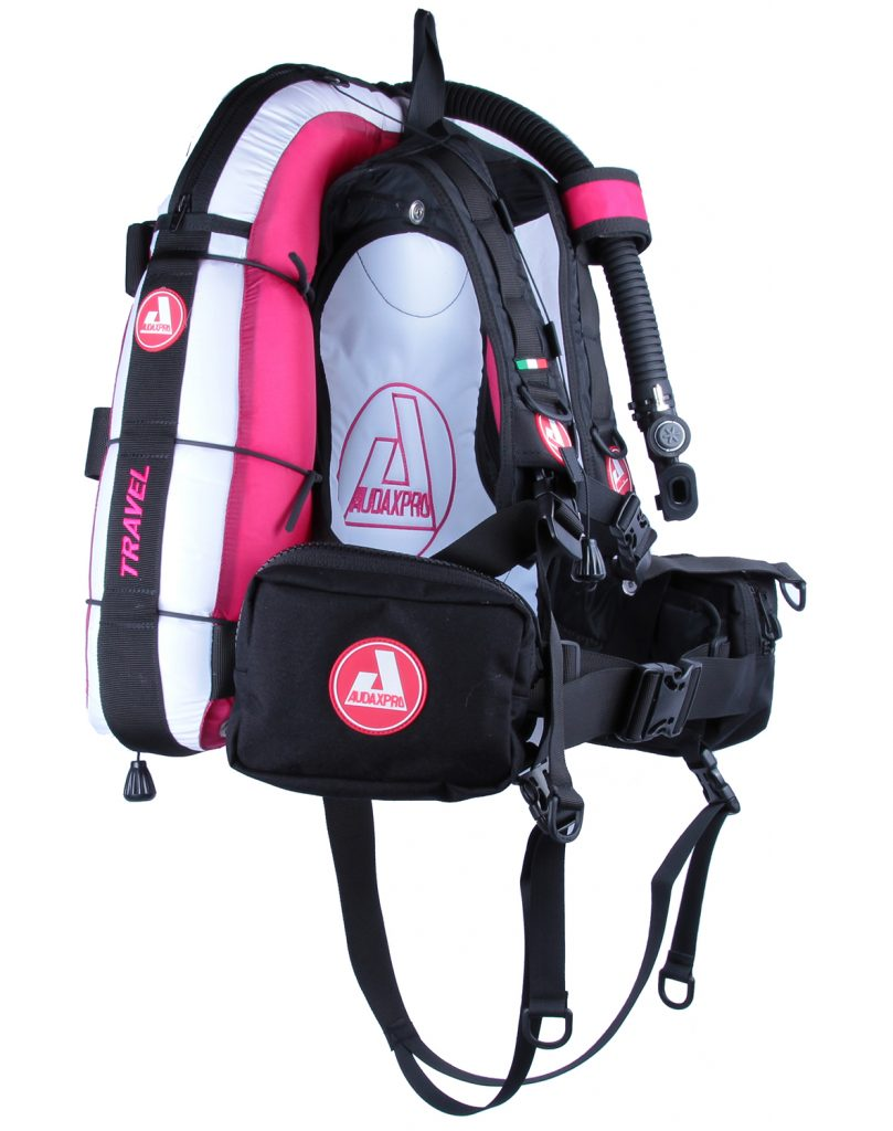 TRAVEL-Audaxpro-bianco-fucsia-Bcd-Jacket-scuba-diving-GAV-sub-ricreativo-1