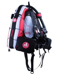 TRAVEL-Audaxpro-bianco-rosso-Bcd-Jacket-scuba-diving-GAV-sub-ricreativo-1
