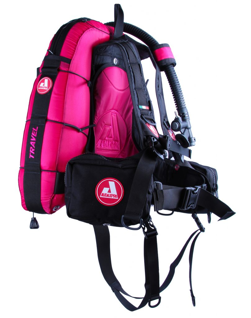 TRAVEL-Audaxpro-fucsia-Bcd-Jacket-scuba-diving-GAV-sub-ricreativo-1