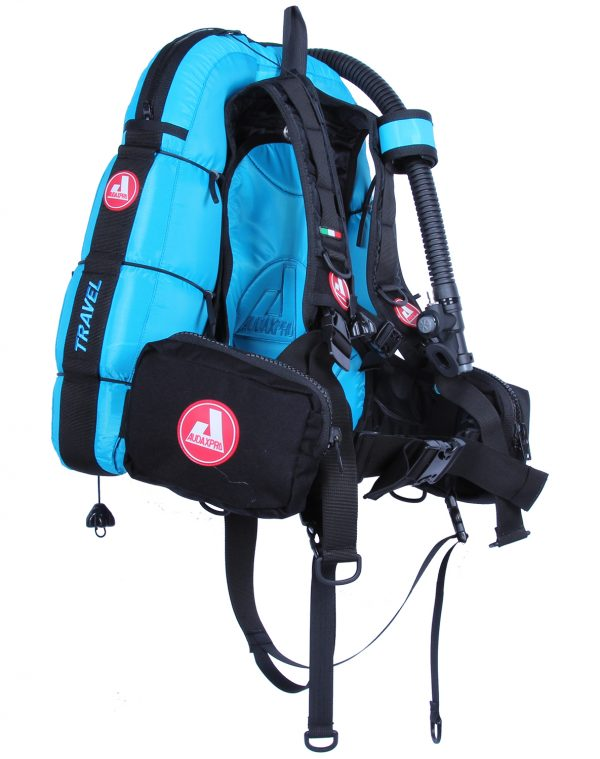 TRAVEL-Audaxpro-turchese-Bcd-Jacket-scuba-diving-GAV-sub-ricreativo-1
